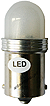 Led Ba 15s 10-30V 21W red HP UHP matowa